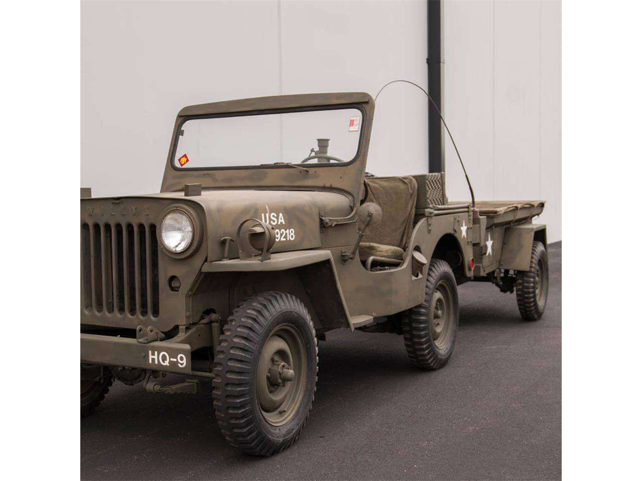 Military Jeep For Sale >> 1952 Willys Military Jeep For Sale Classiccars Com Cc 791583