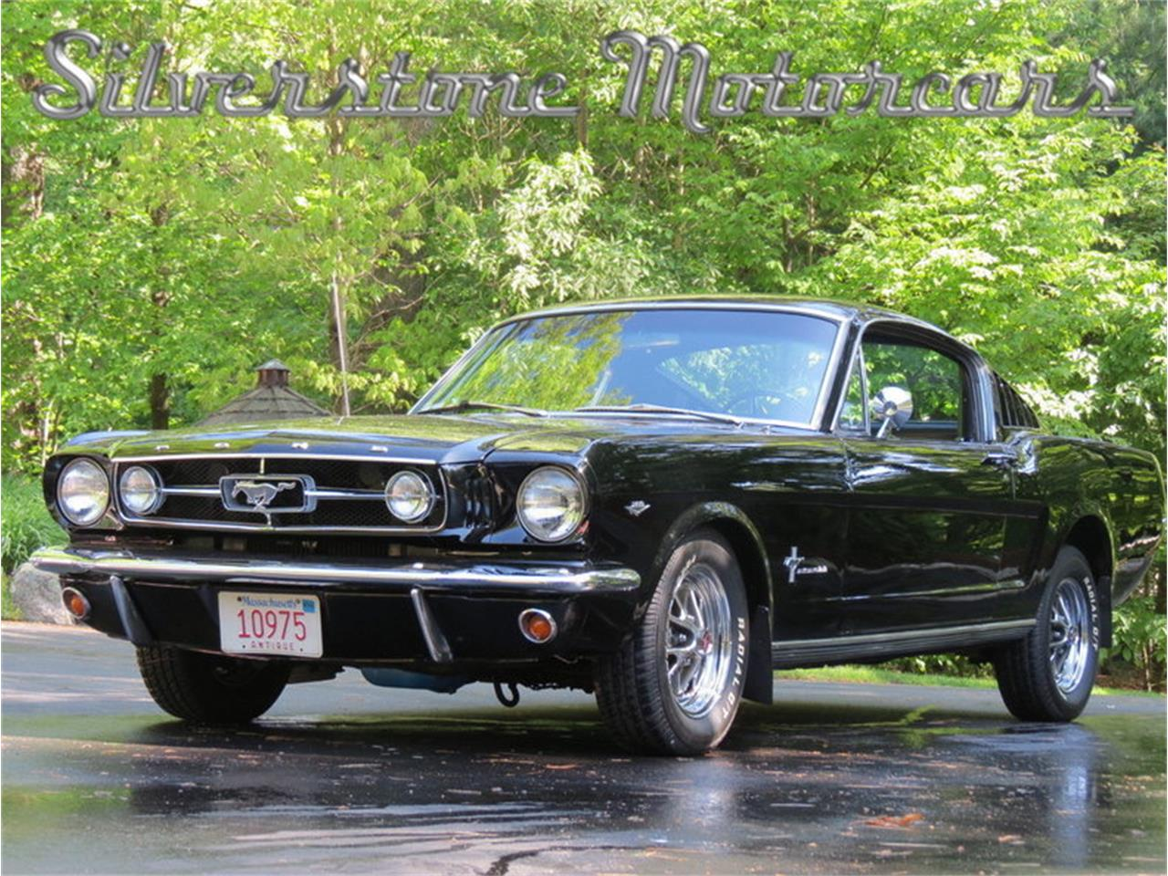 Large Picture of Classic '65 Mustang located in Massachusetts Offered by Silverstone Motorcars - H10Z