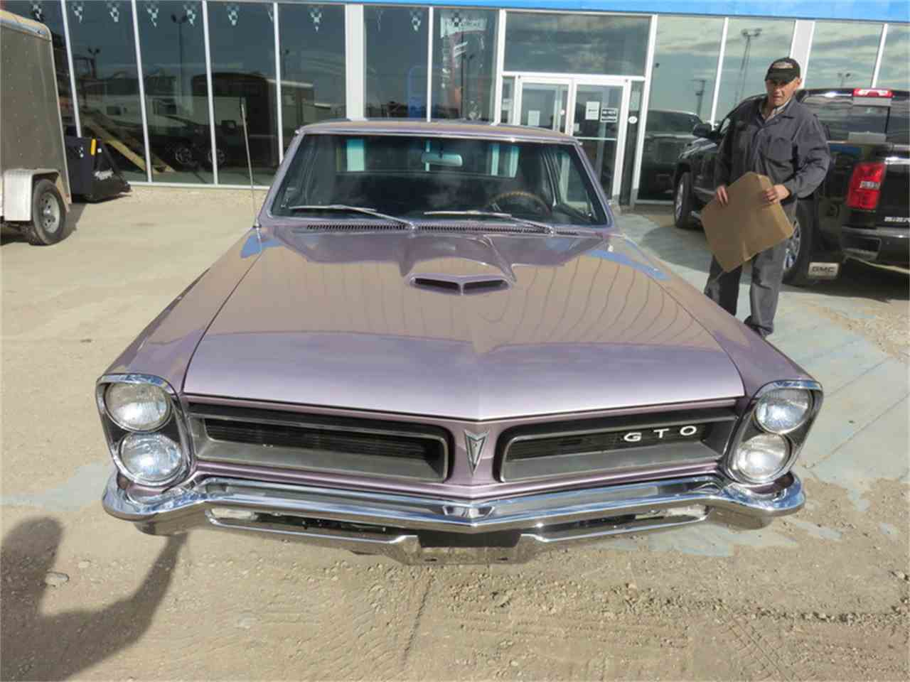 Large Picture of '65 GTO Post Iris Mist - H6C1