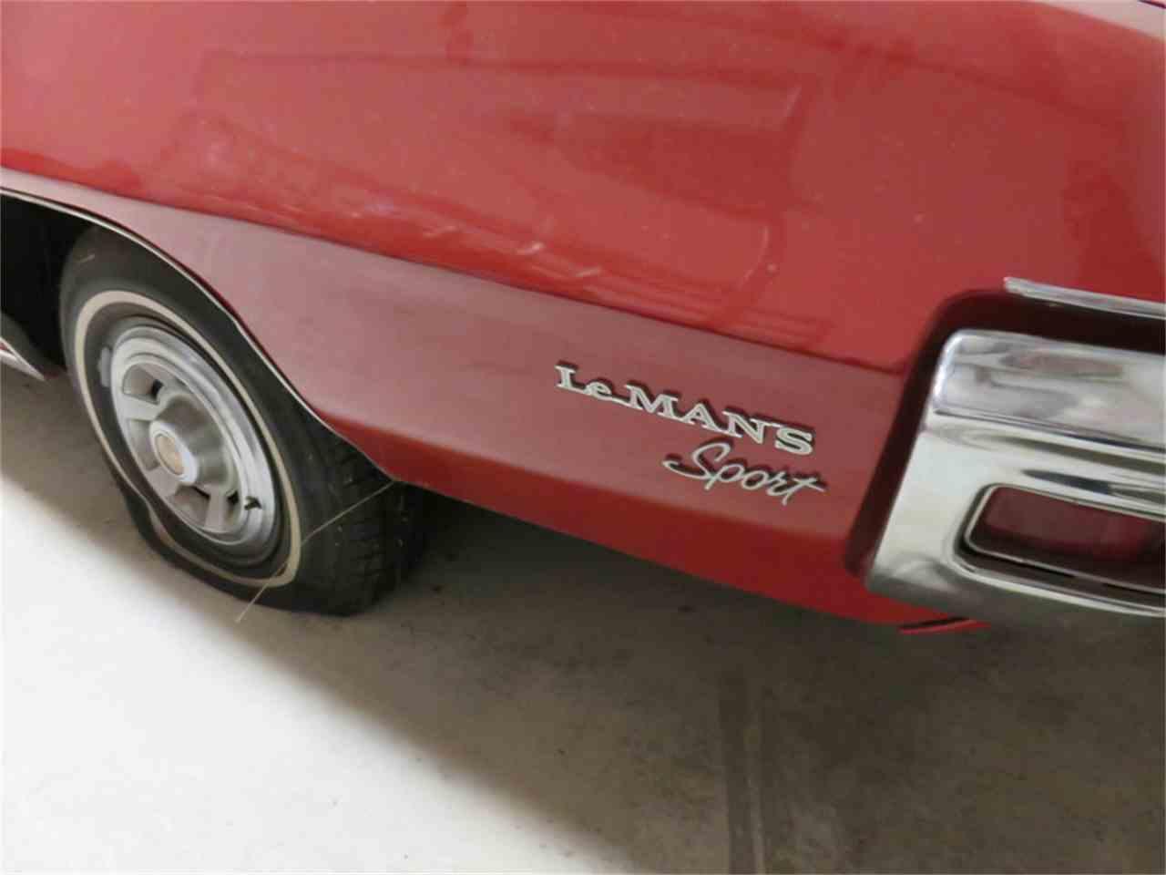 Large Picture of '69 Lemans Tempest Convertiable - H6CT