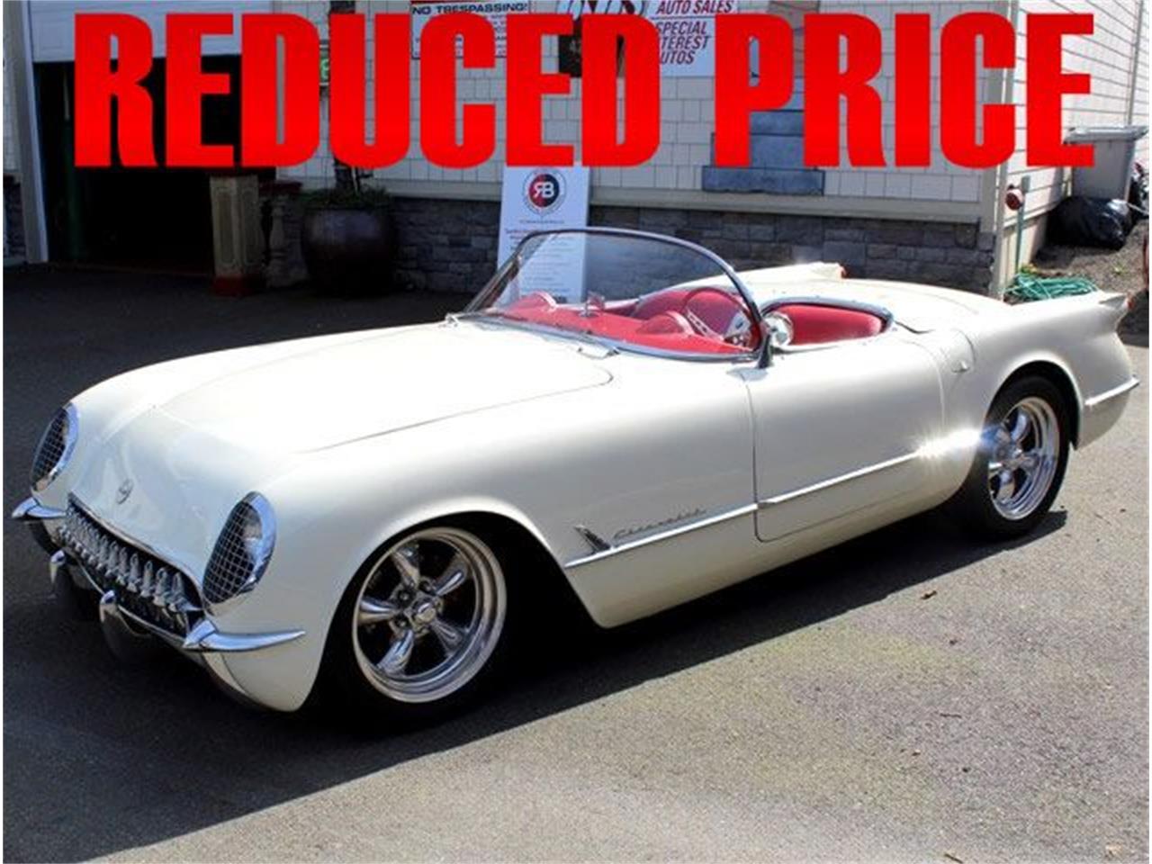 1954 chevrolet corvette for sale cc 804043. Black Bedroom Furniture Sets. Home Design Ideas