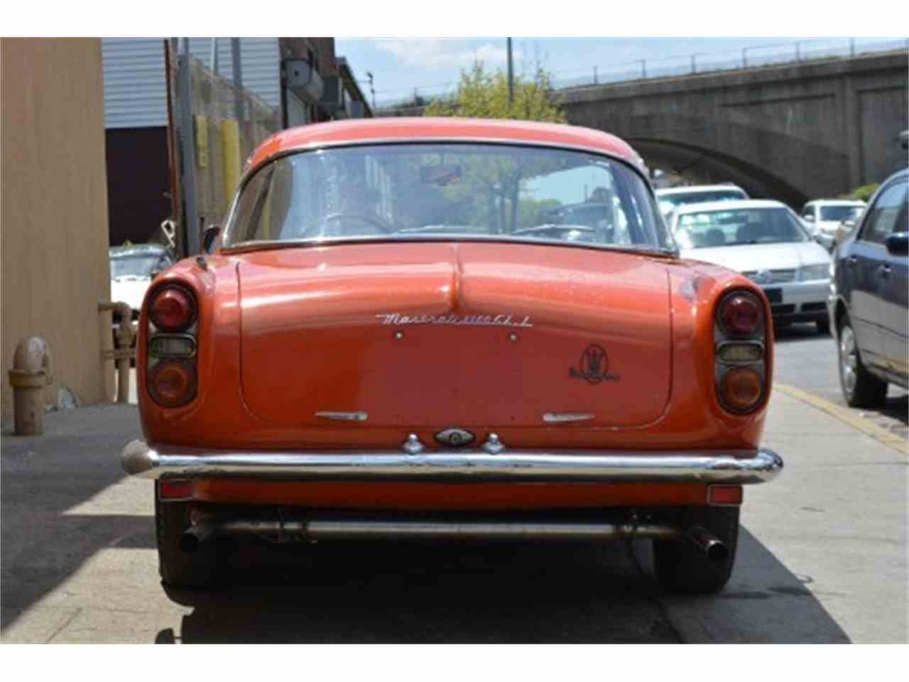 Large Picture of Classic '63 Maserati 3500 located in New York Offered by Gullwing Motor Cars - H94V