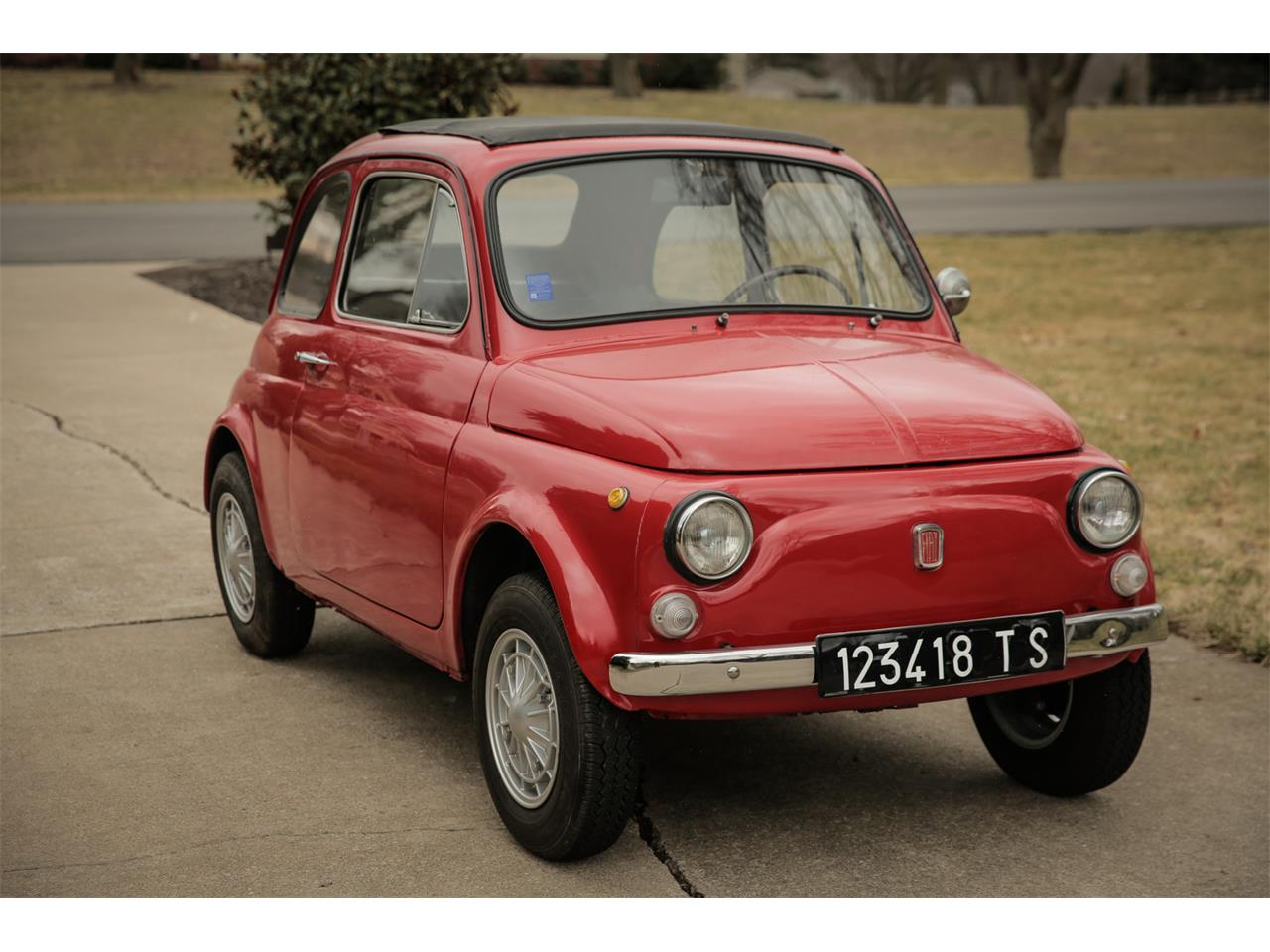 Large Picture of Classic 1970 Fiat 500 located in Olathe Kansas - $15,500.00 Offered by a Private Seller - H5C0