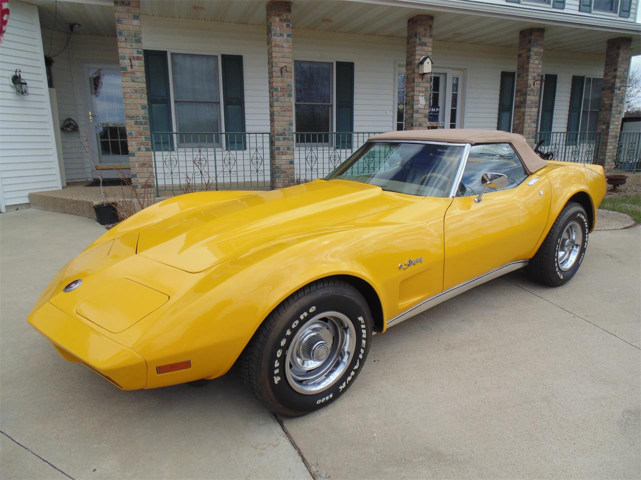 Large Picture of '74 Chevrolet Corvette Offered by Braaten's Auto Center - HAA4