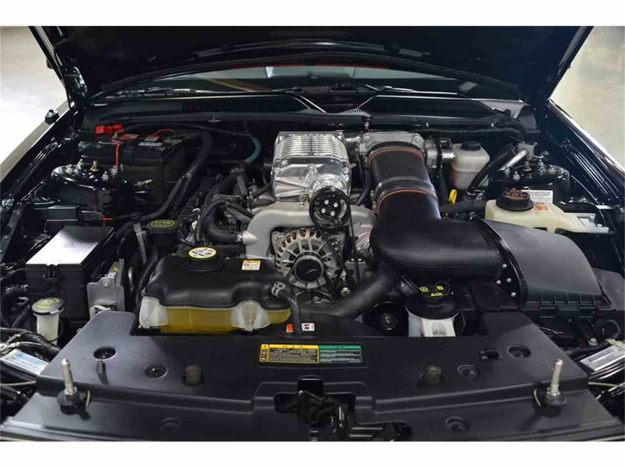 Large Picture of '08 Mustang Shelby Supercharged Barrett Jackson - HB32