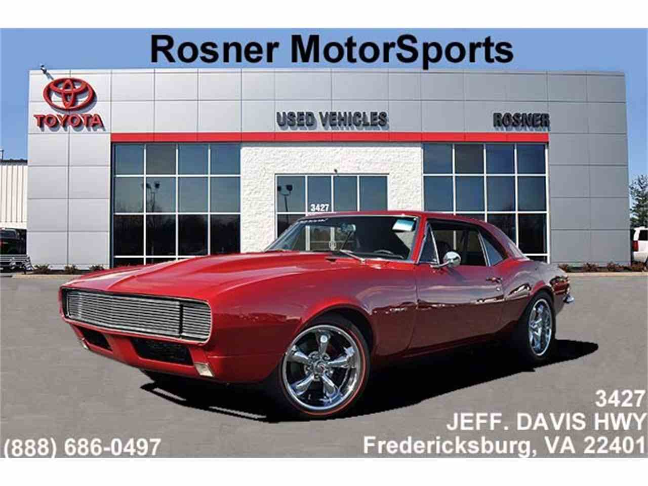 1967 Chevrolet Camaro for Sale | ClassicCars.com | CC-811293