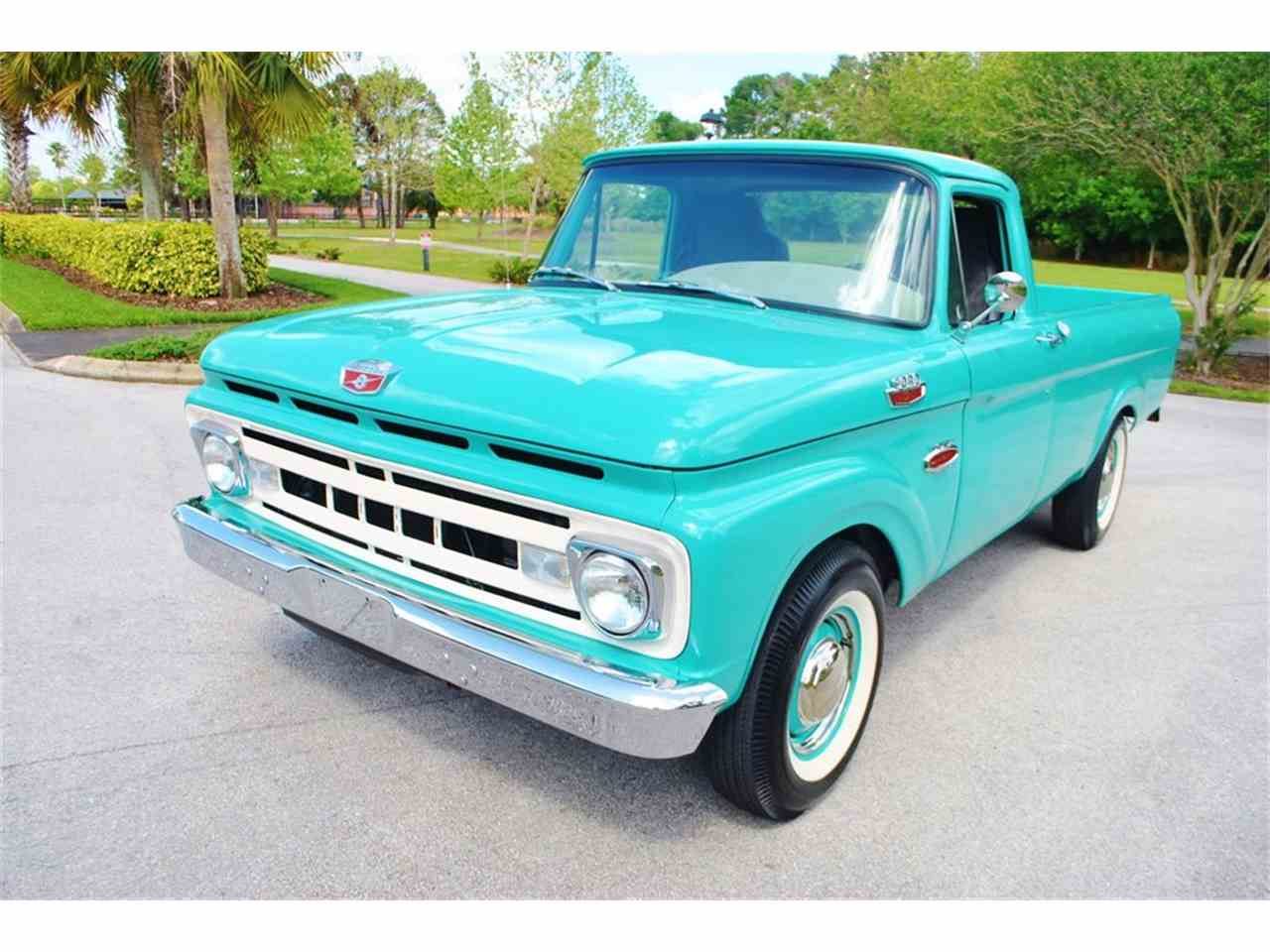 Large Picture of '61 F100 - HELG