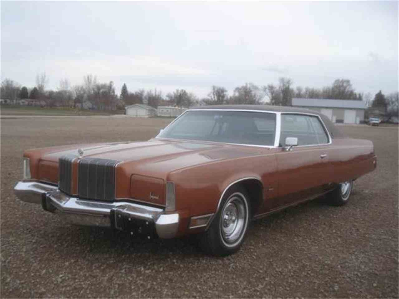 Large Picture of 1974 Imperial located in Milbank South Dakota - HEYE