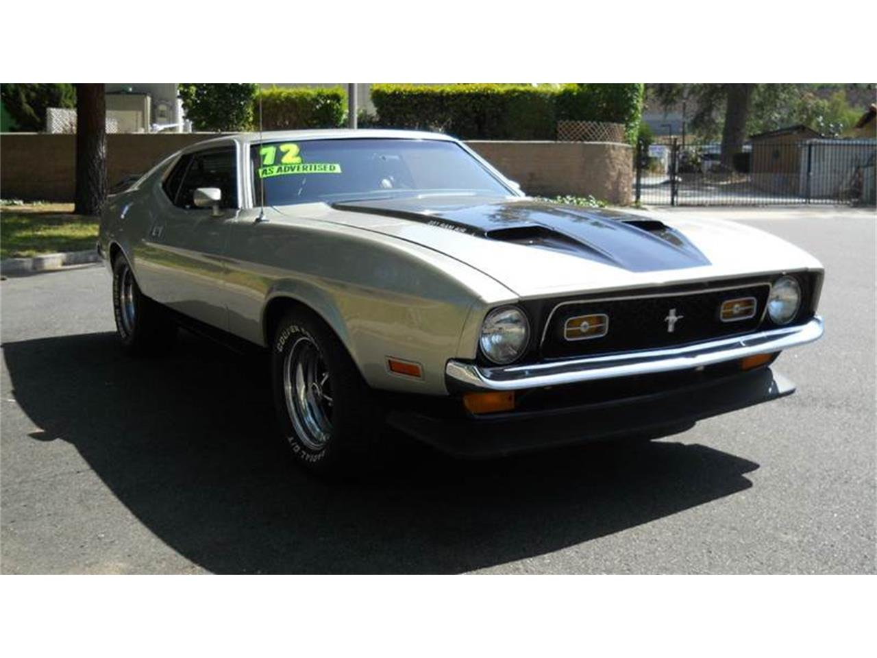 Large Picture of Classic '72 Mustang located in Thousand Oaks California - $24,995.00 - HF7X