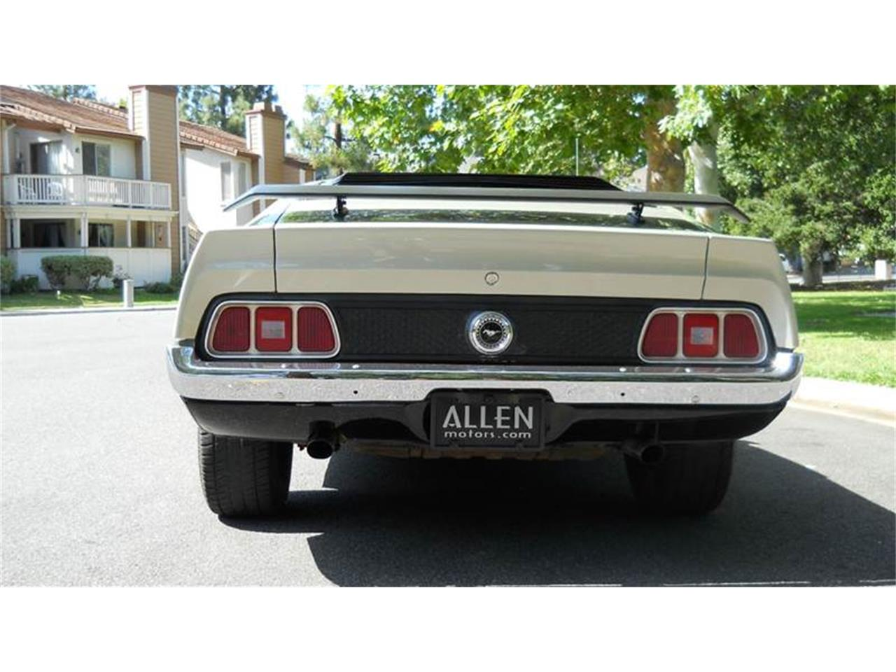 Large Picture of '72 Mustang - HF7X