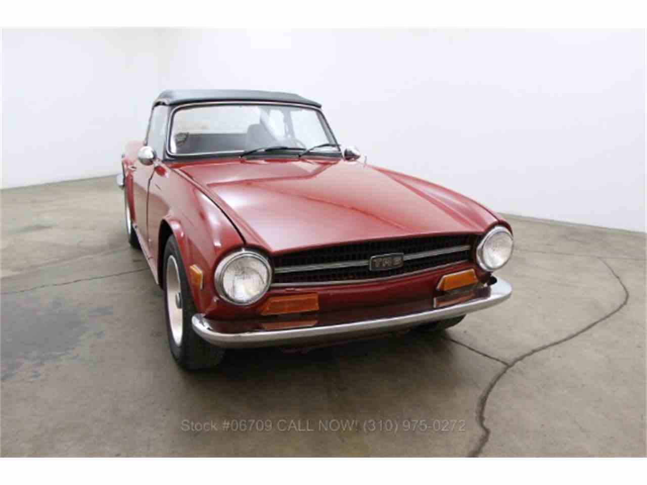 Large Picture of '74 TR6 - HGKT