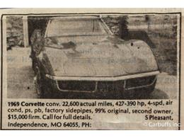 Picture of '69 Corvette Offered by ABC Dealer TEST - HGME
