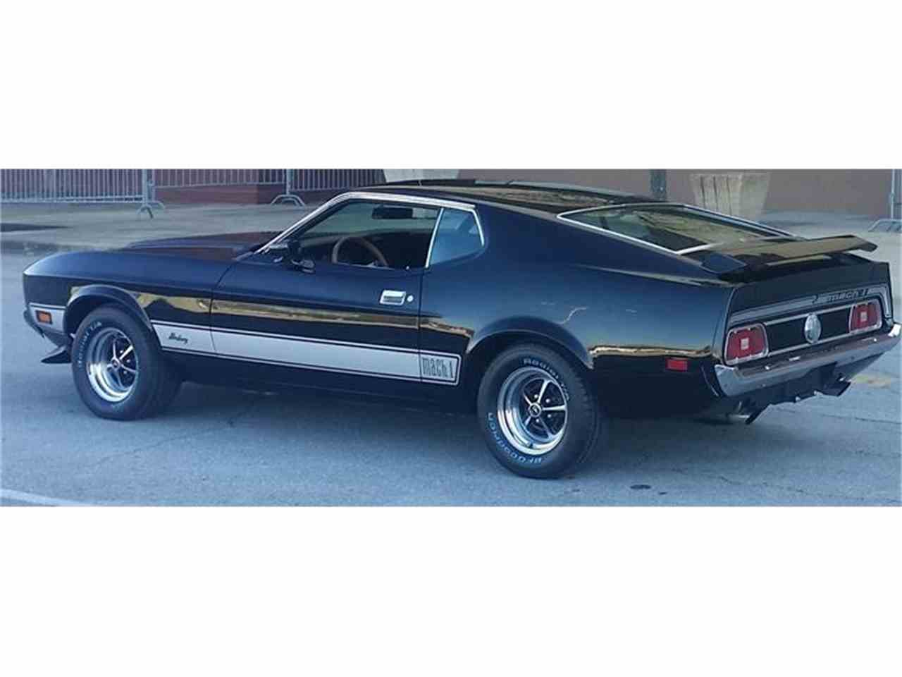 Large Picture of '73 Mustang Mach 1 - HI6B