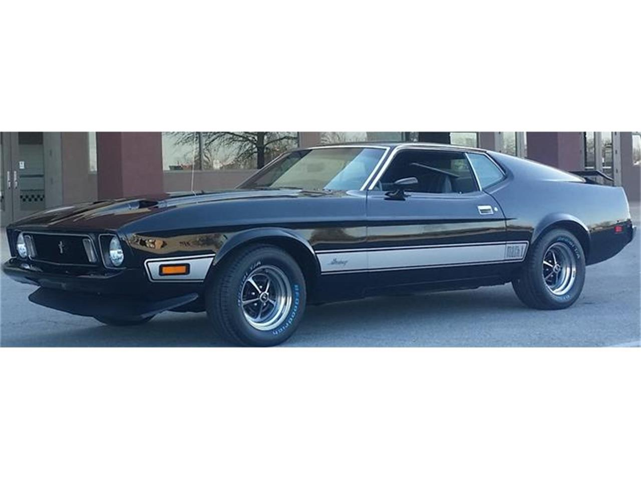 Large Picture of Classic 1973 Ford Mustang Mach 1 located in Mississippi Offered by Pappi's Garage - HI6B