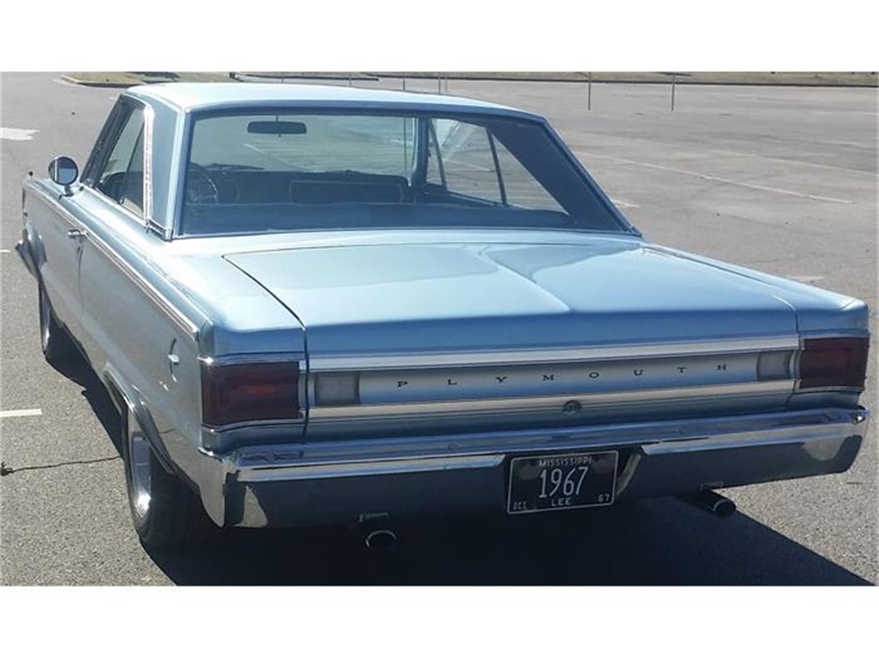 Large Picture of Classic '67 Plymouth Belvedere - $28,950.00 - HI6I