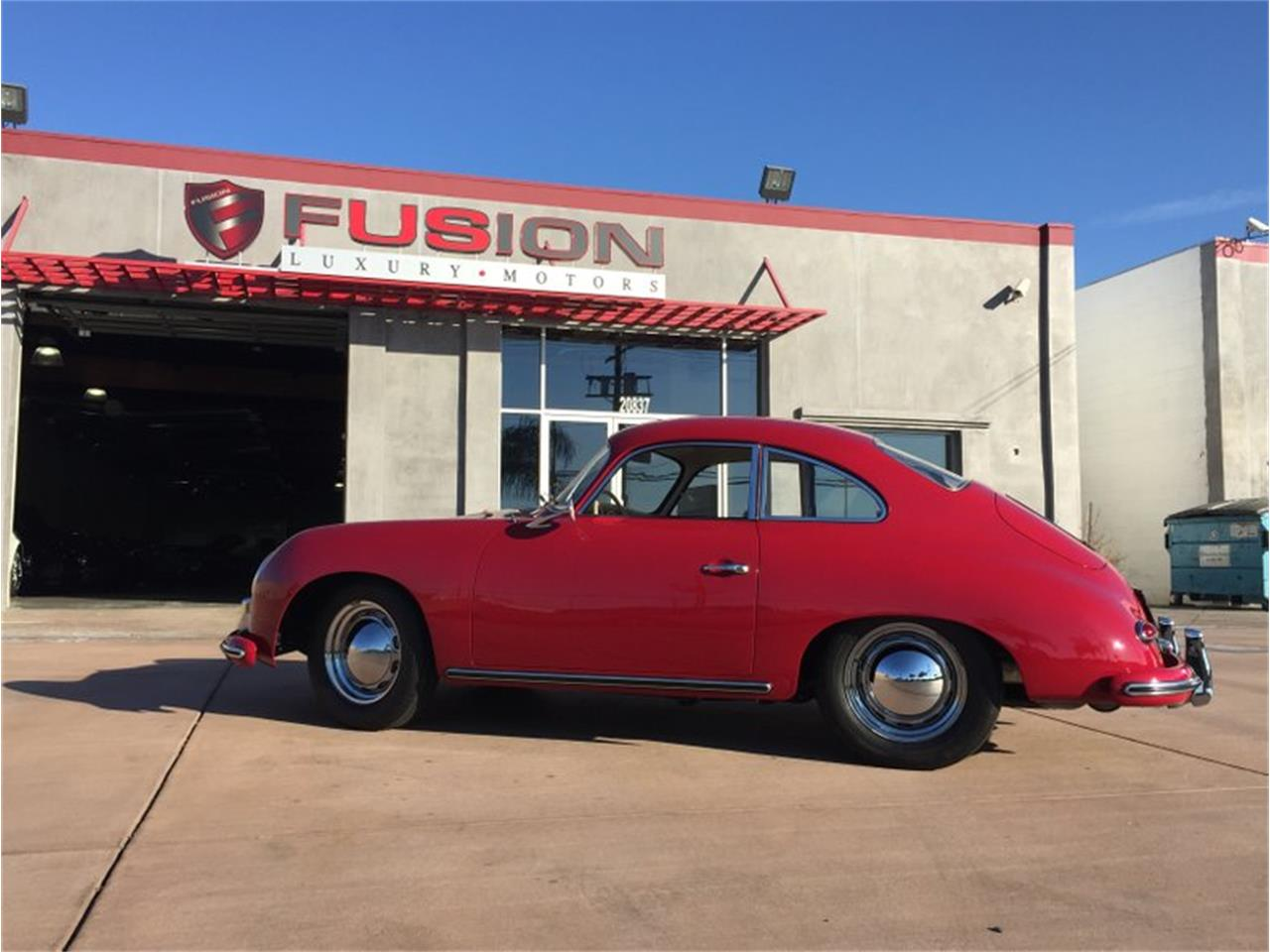 Large Picture of Classic '59 Porsche 356 located in Chatsworth California Offered by Fusion Luxury Motors - HKNZ