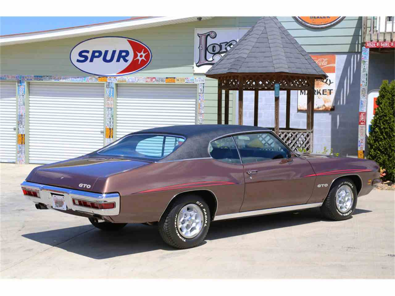 Large Picture of Classic '71 Pontiac GTO located in Tennessee Offered by Smoky Mountain Traders - HKO3