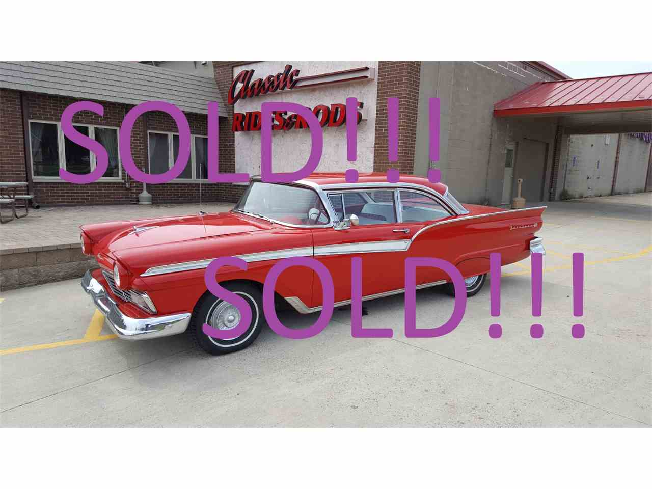 Large Picture of Classic '57 Ford Fairlane located in Annandale Minnesota Auction Vehicle Offered by Classic Rides and Rods - HP38