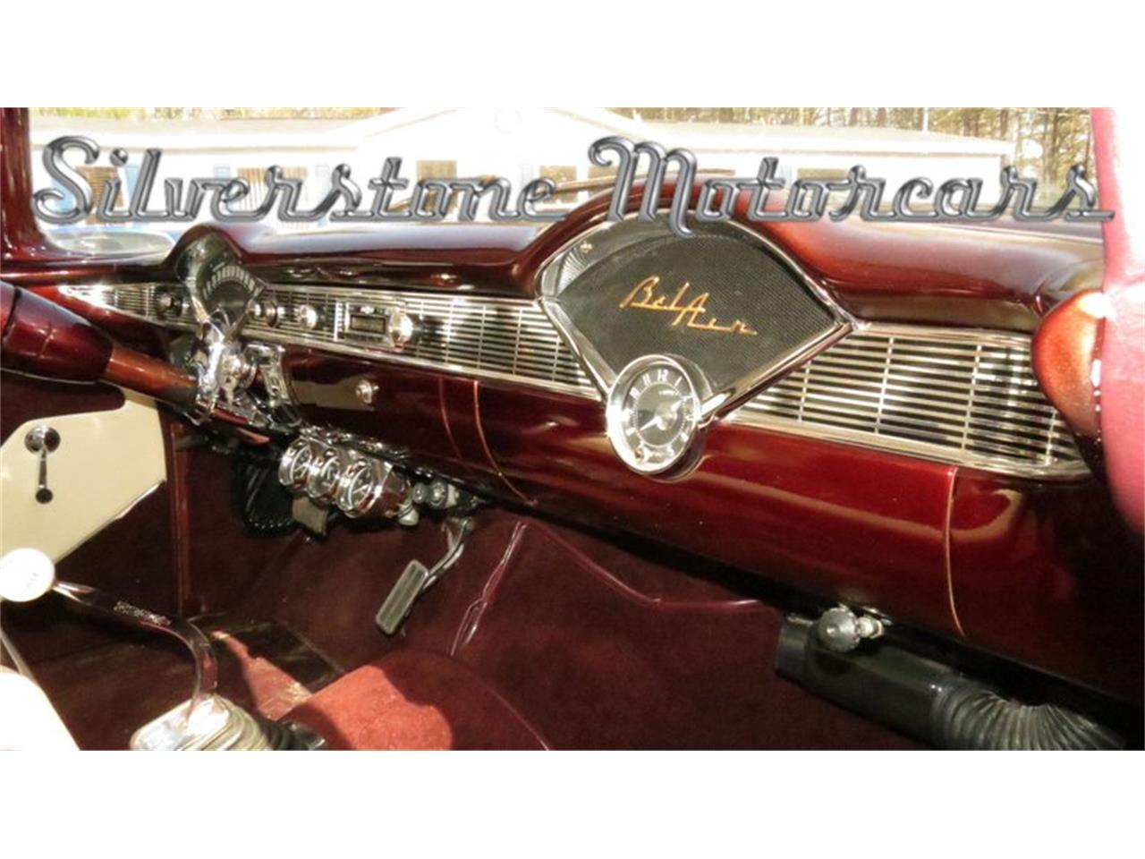 Large Picture of Classic 1956 Chevrolet Bel Air located in North Andover Massachusetts Offered by Silverstone Motorcars - HPHC