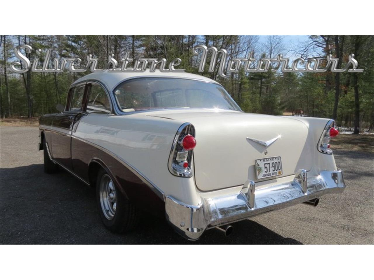Large Picture of Classic '56 Chevrolet Bel Air located in North Andover Massachusetts Offered by Silverstone Motorcars - HPHC
