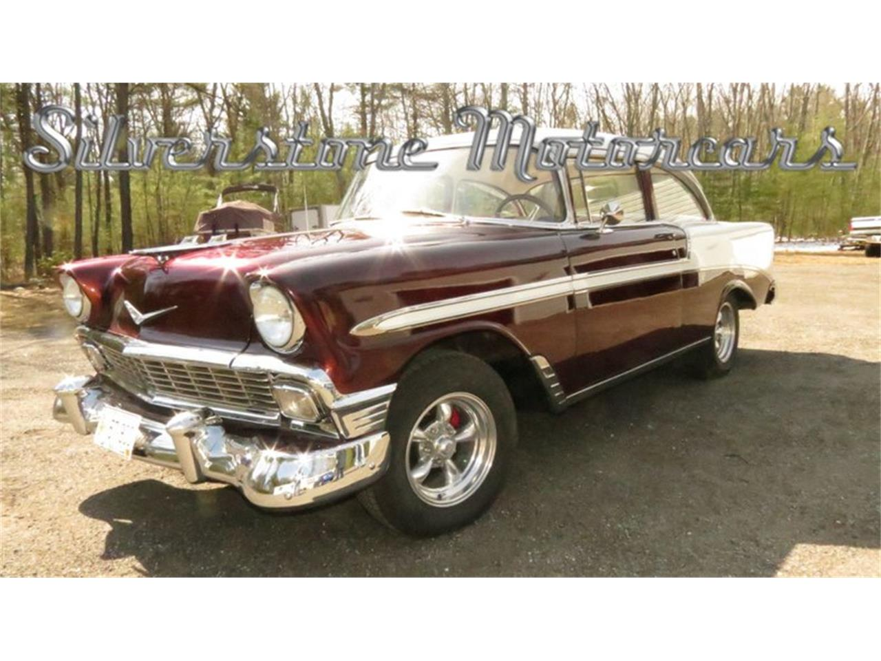 Large Picture of '56 Chevrolet Bel Air located in Massachusetts Offered by Silverstone Motorcars - HPHC