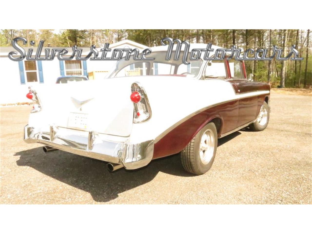 Large Picture of Classic '56 Chevrolet Bel Air located in Massachusetts Offered by Silverstone Motorcars - HPHC