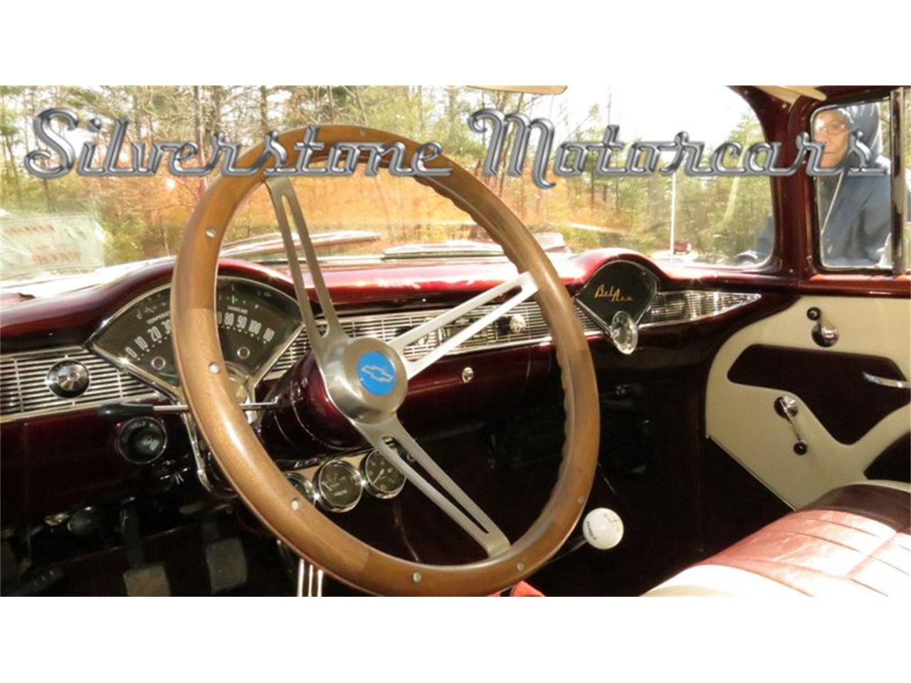 Large Picture of Classic '56 Chevrolet Bel Air located in North Andover Massachusetts - $49,900.00 Offered by Silverstone Motorcars - HPHC