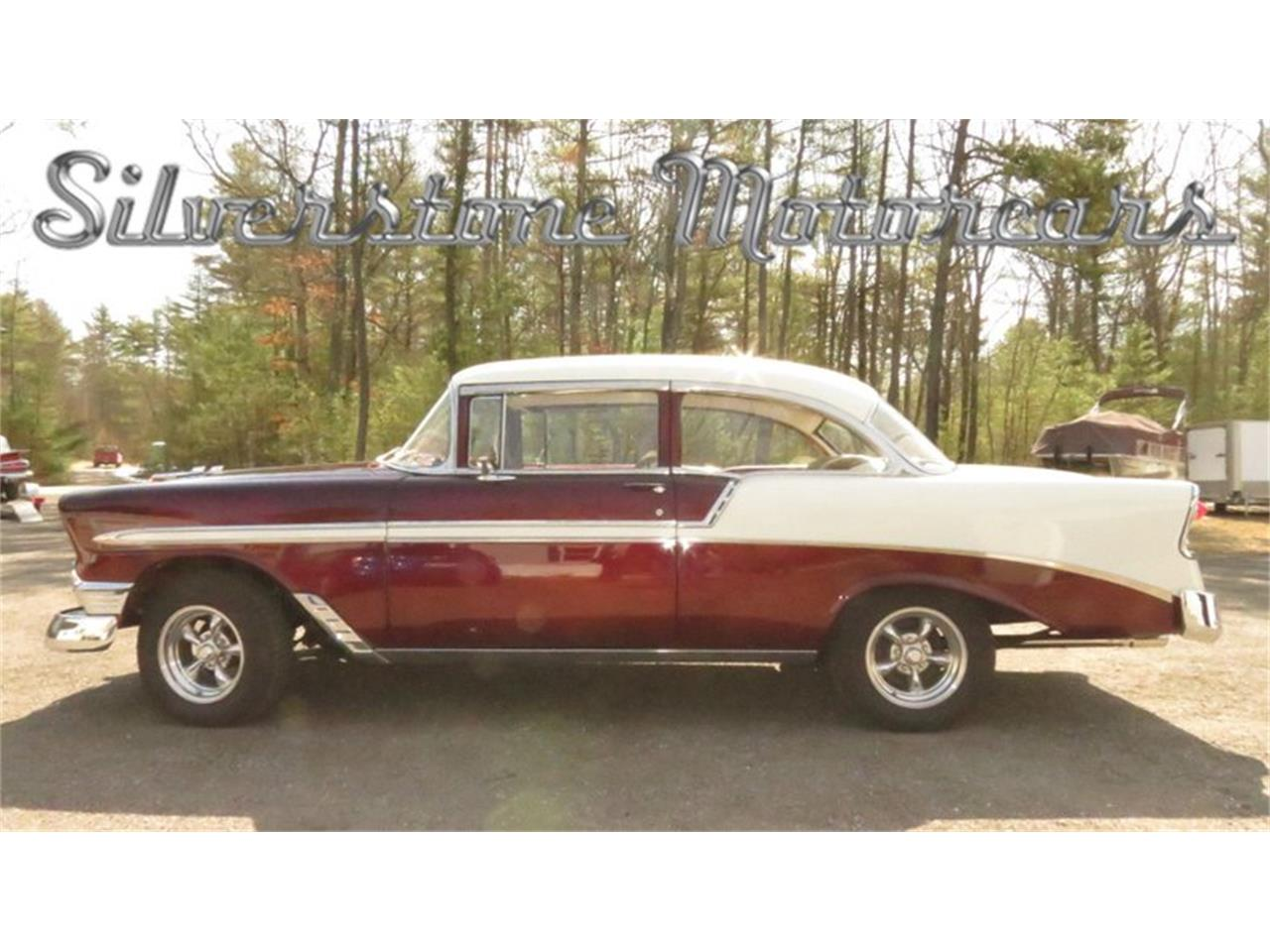 Large Picture of Classic '56 Bel Air located in Massachusetts - $49,900.00 Offered by Silverstone Motorcars - HPHC