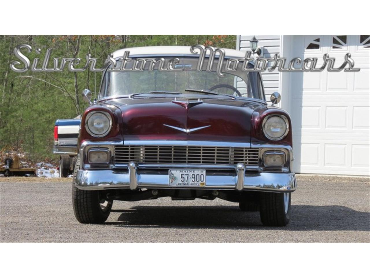 Large Picture of Classic 1956 Chevrolet Bel Air located in Massachusetts Offered by Silverstone Motorcars - HPHC