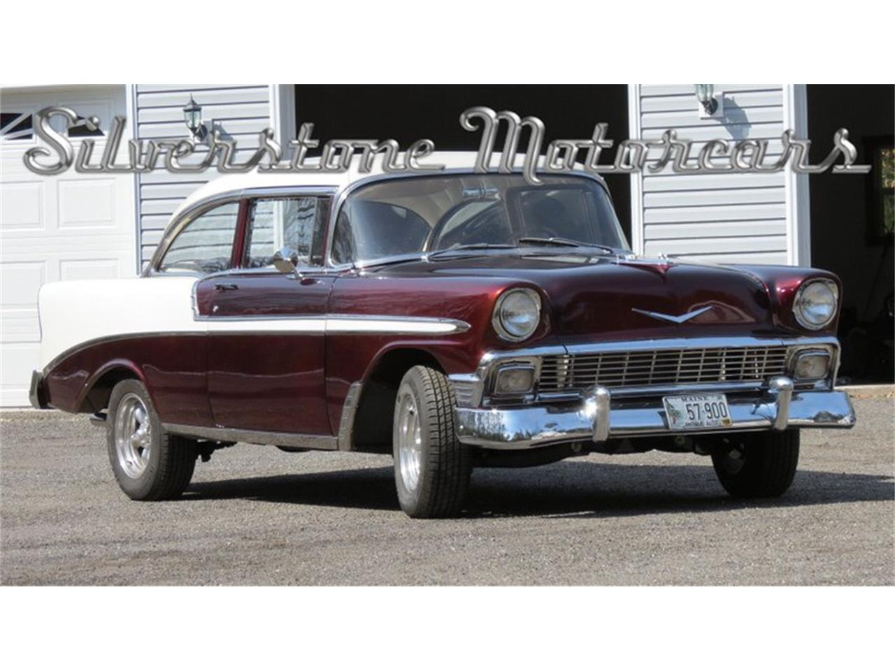 Large Picture of Classic 1956 Bel Air located in North Andover Massachusetts Offered by Silverstone Motorcars - HPHC