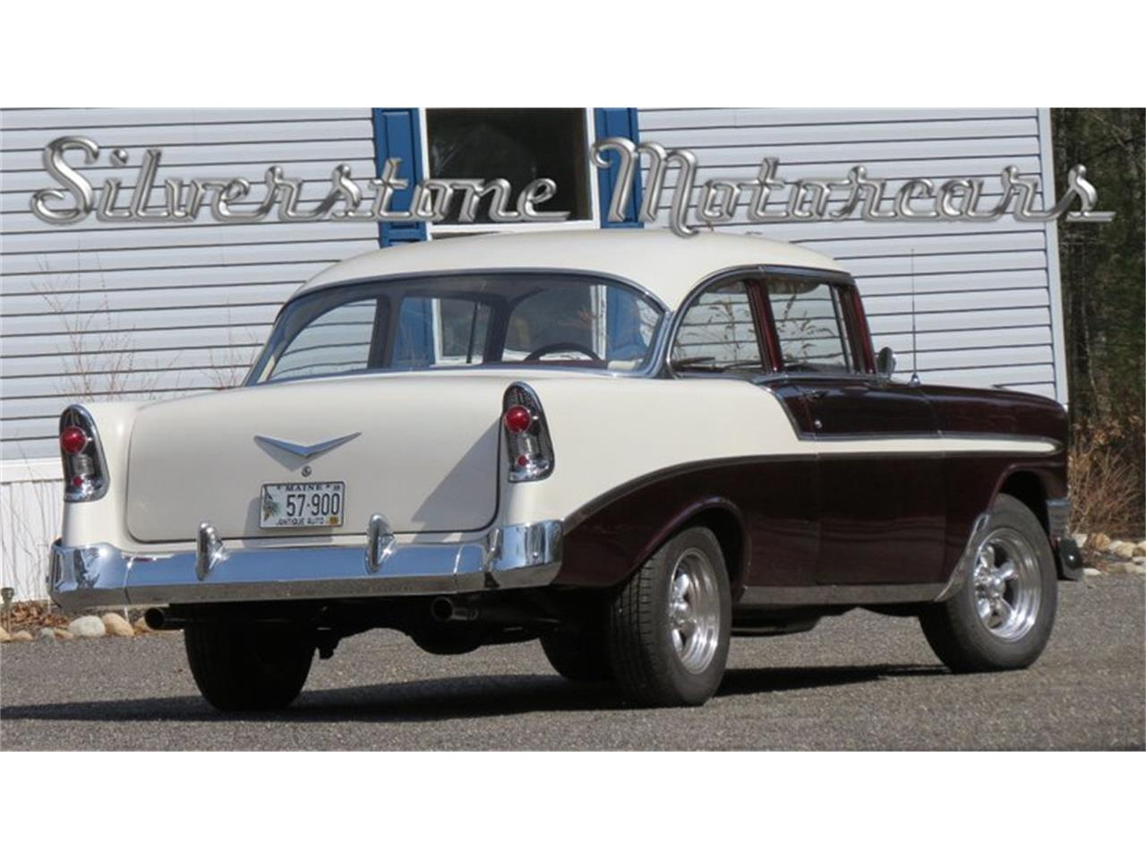 Large Picture of '56 Chevrolet Bel Air Offered by Silverstone Motorcars - HPHC