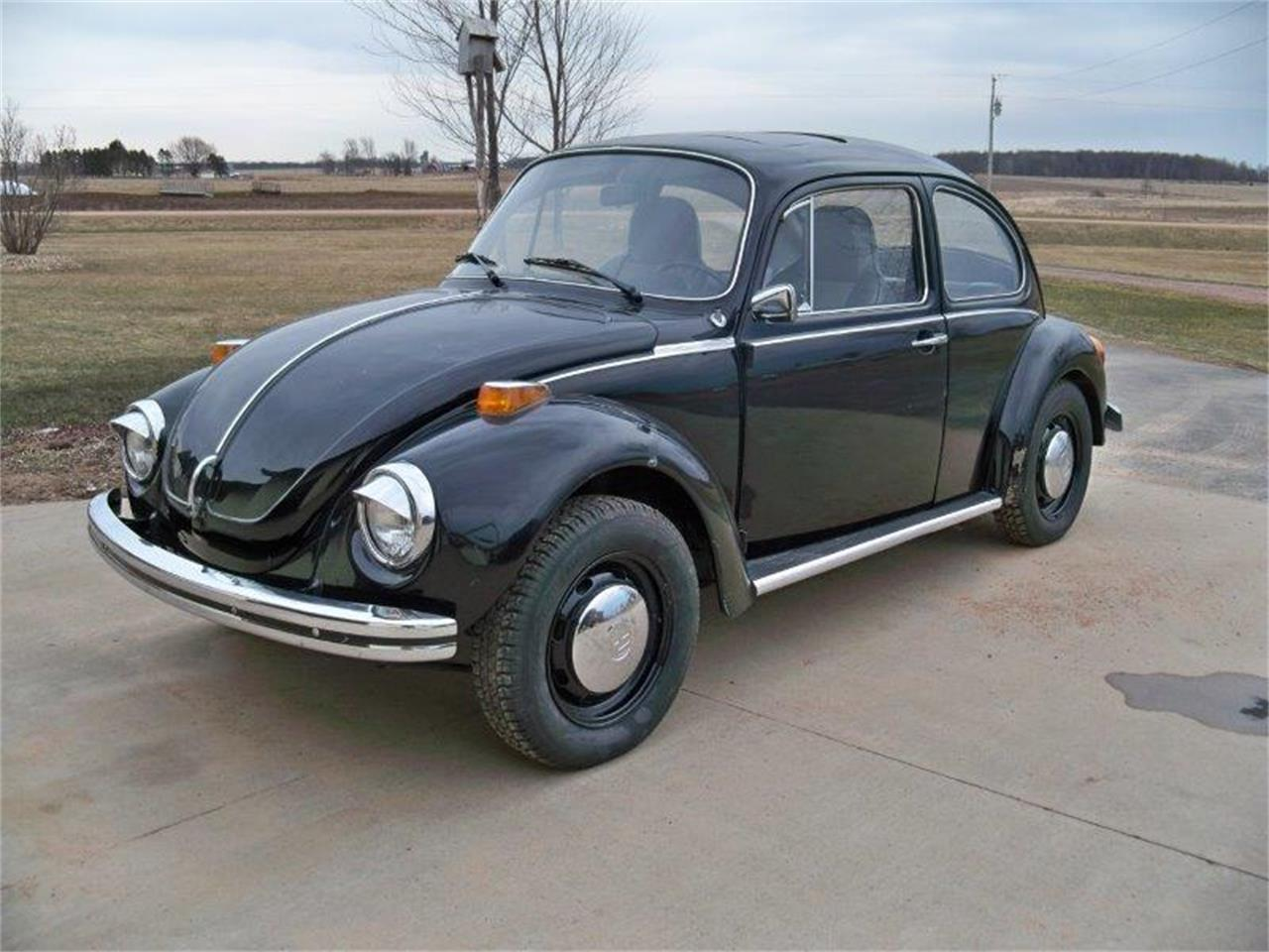 Large Picture of Classic 1973 Volkswagen Super Beetle located in Loyal Wisconsin Offered by a Private Seller - HQST