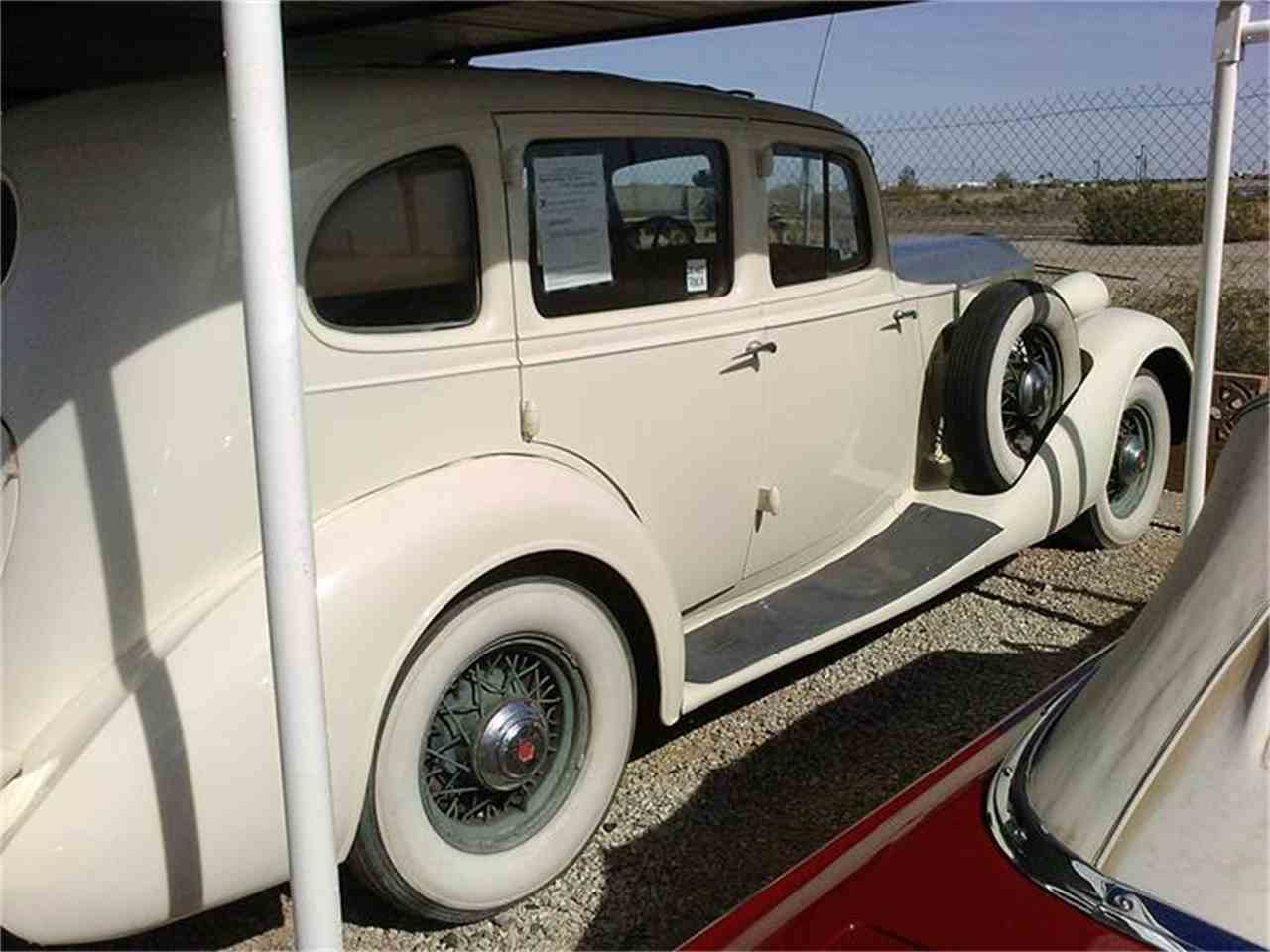Large Picture of Classic 1935 Packard 4-Dr Offered by Desert Gardens Classic Cars - HRST