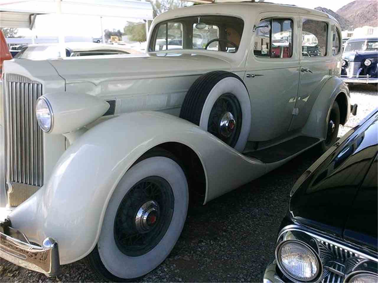 Large Picture of '35 Packard 4-Dr located in Quartzsite Arizona - $39,980.00 Offered by Desert Gardens Classic Cars - HRST