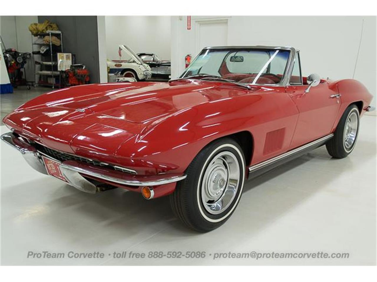 Large Picture of Classic '67 Chevrolet Corvette - $110,000.00 Offered by Proteam Corvette Sales - HS2O