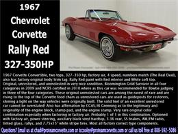 Picture of Classic '67 Corvette - $110,000.00 Offered by Proteam Corvette Sales - HS2O