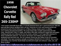 Picture of '58 Corvette - HSJ2