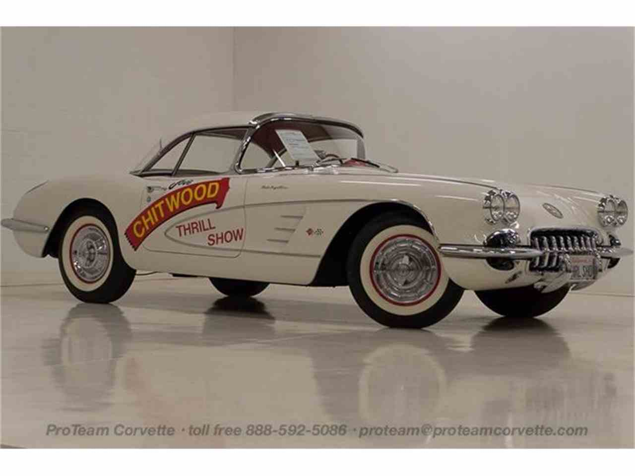 Large Picture of '58 Chevrolet Corvette located in Ohio Offered by Proteam Corvette Sales - HSLN