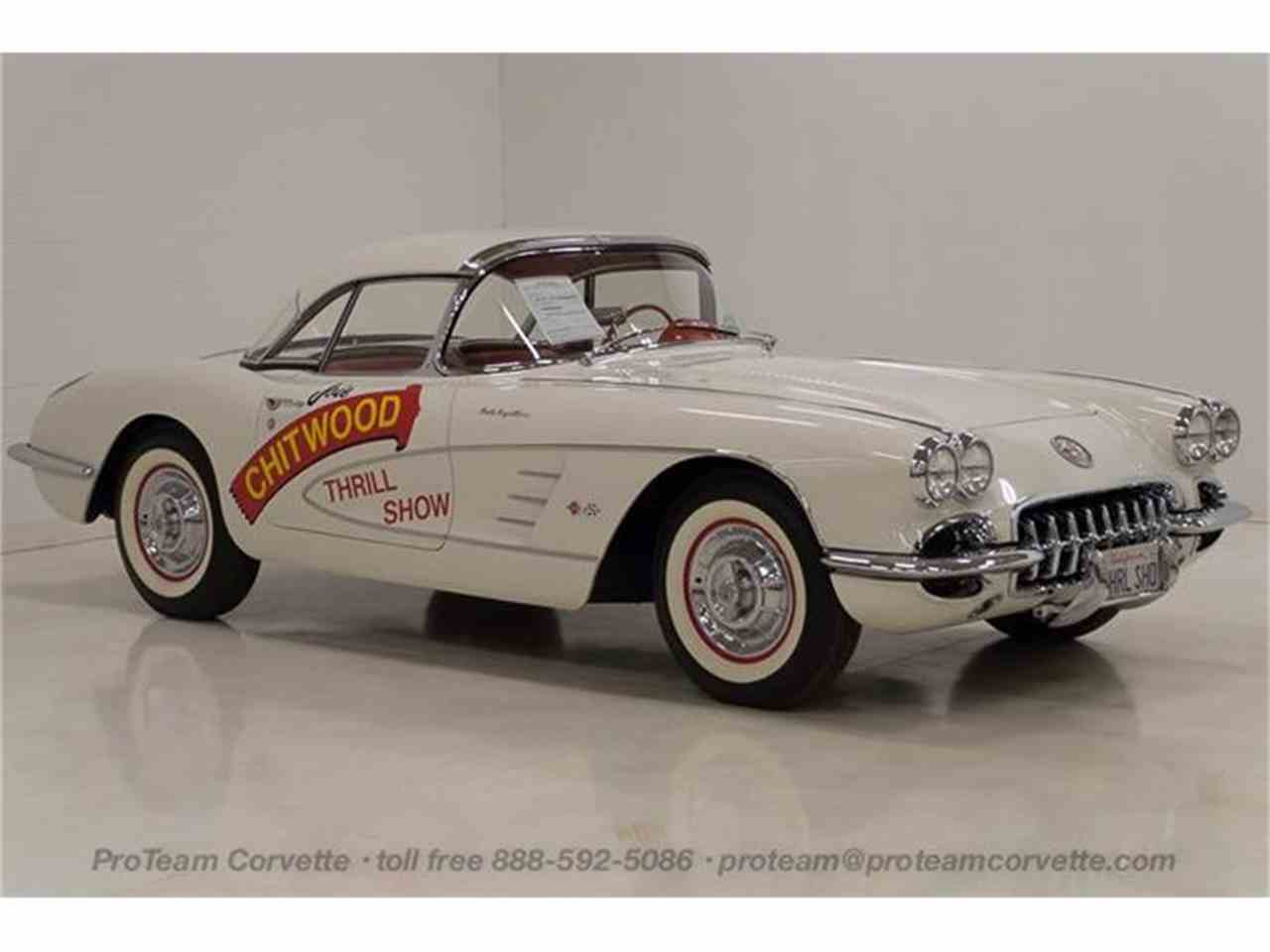 Large Picture of Classic '58 Corvette Offered by Proteam Corvette Sales - HSLN