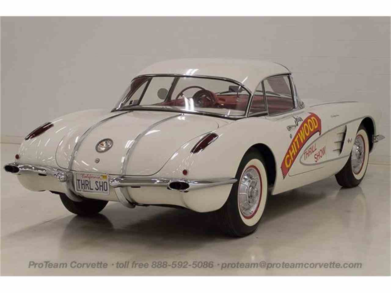 Large Picture of Classic 1958 Chevrolet Corvette - $300,000.00 Offered by Proteam Corvette Sales - HSLN