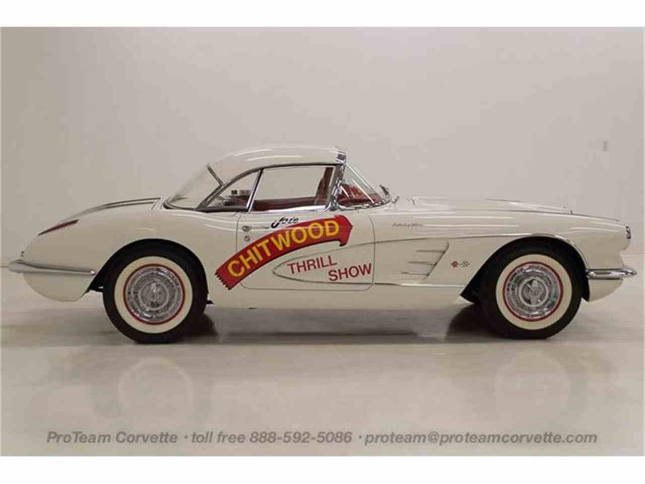 Large Picture of Classic 1958 Chevrolet Corvette located in Napoleon Ohio - $300,000.00 Offered by Proteam Corvette Sales - HSLN