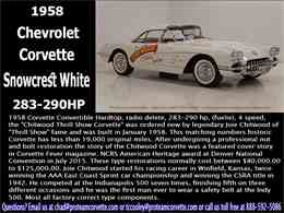 Picture of 1958 Chevrolet Corvette - $300,000.00 - HSLN