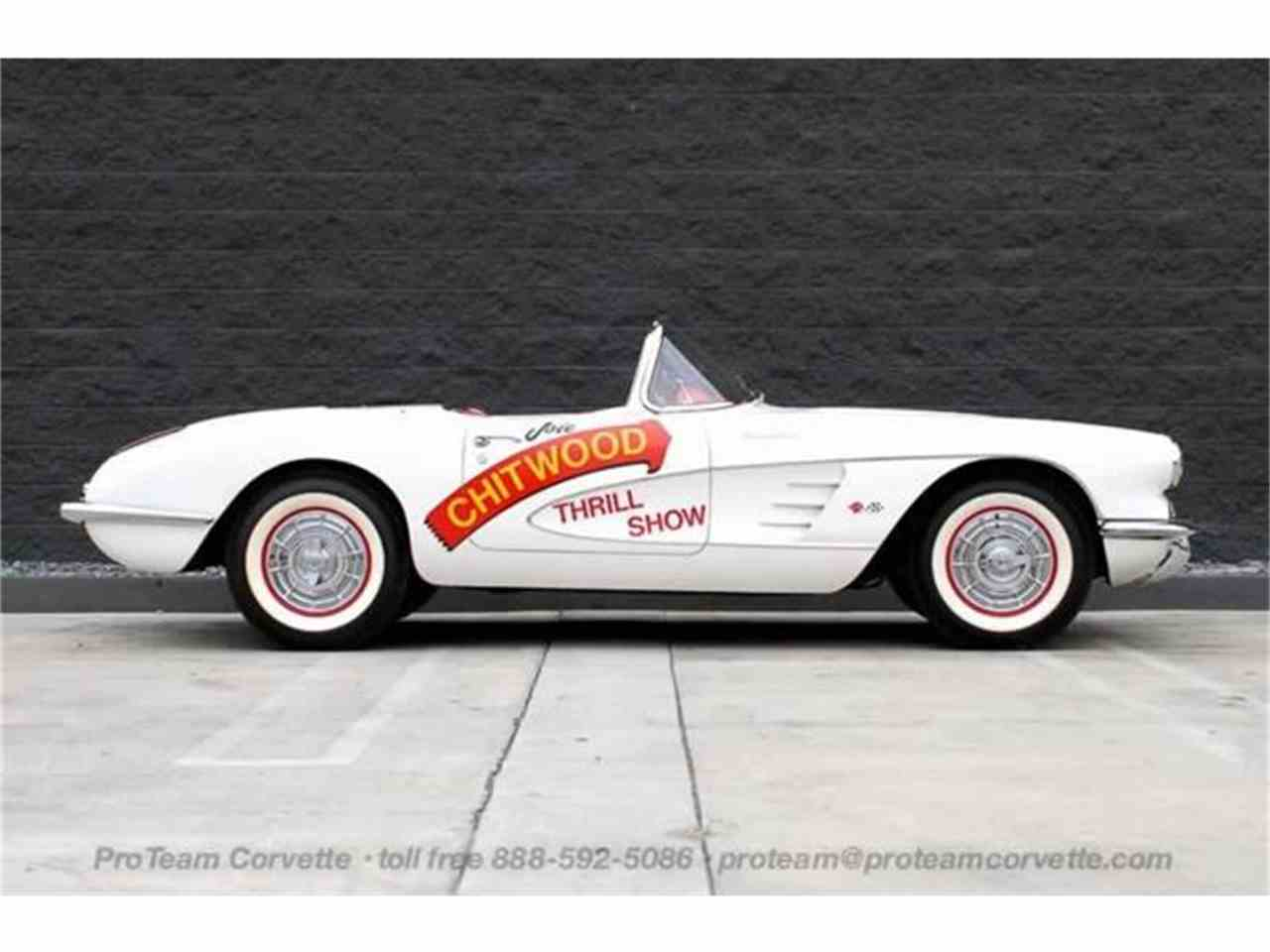 Large Picture of 1958 Chevrolet Corvette Offered by Proteam Corvette Sales - HSLN