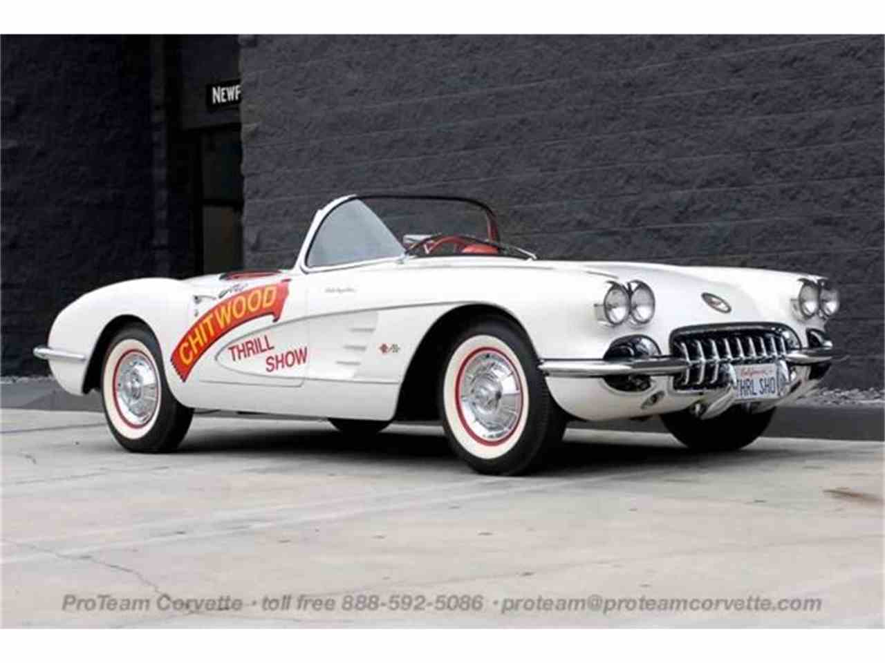 Large Picture of Classic 1958 Corvette - $300,000.00 Offered by Proteam Corvette Sales - HSLN