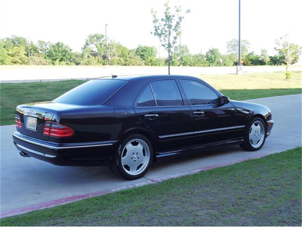Large Picture of '01 Mercedes-Benz E55 located in Texas - $12,200.00 Offered by Enthusiast Motor Cars of Texas - HUJ9