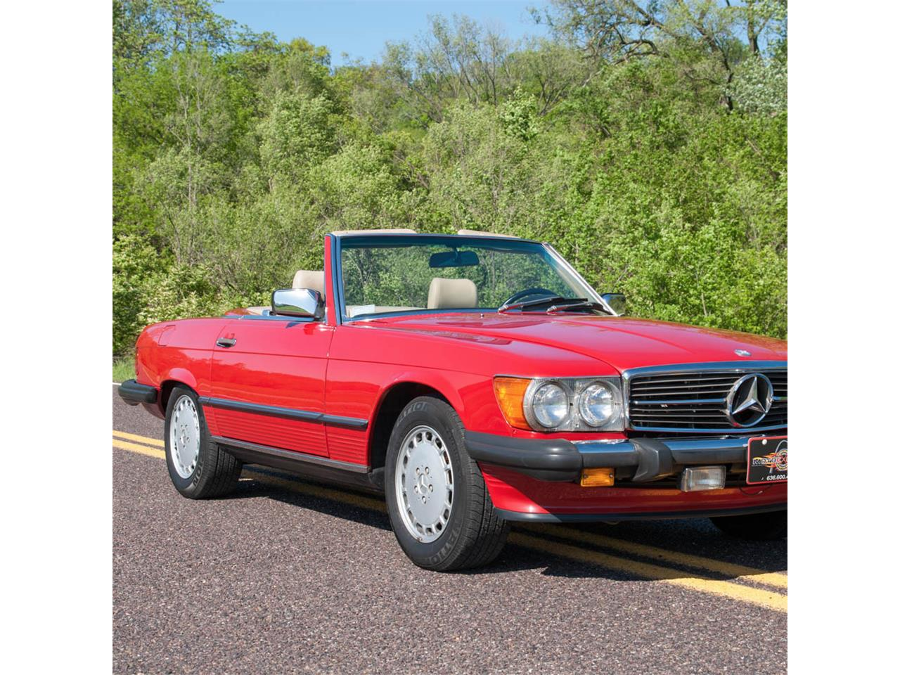 1988 Mercedes Benz 560sl For Sale Cc 832752 Fuel Filter Large Picture Of 88 Huk0