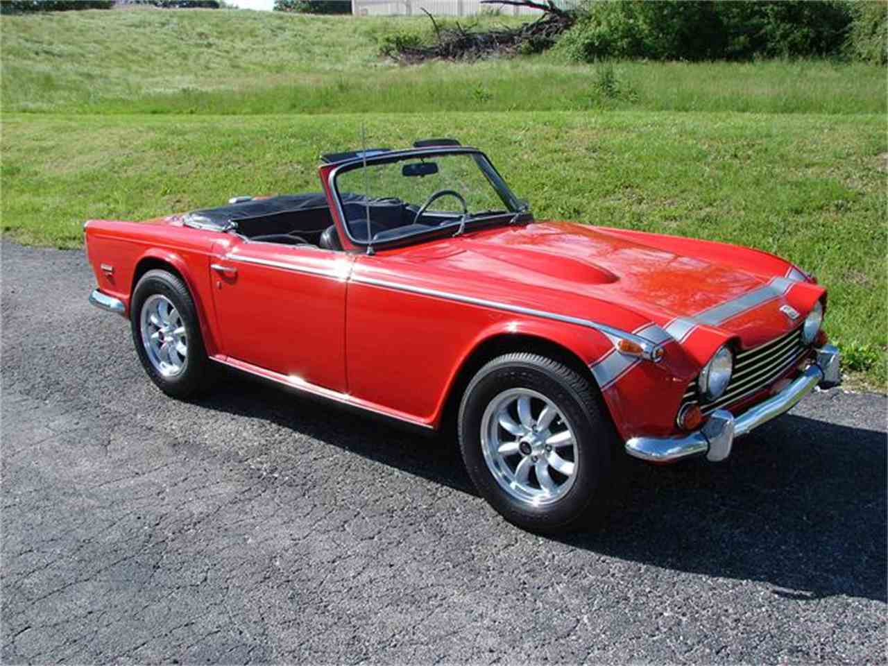 Large Picture of '68 TR250 - HSRP