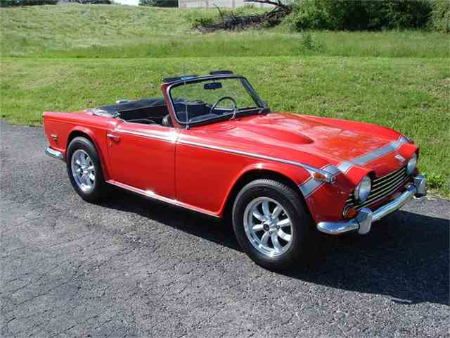 Picture of '68 TR250 - HSRP