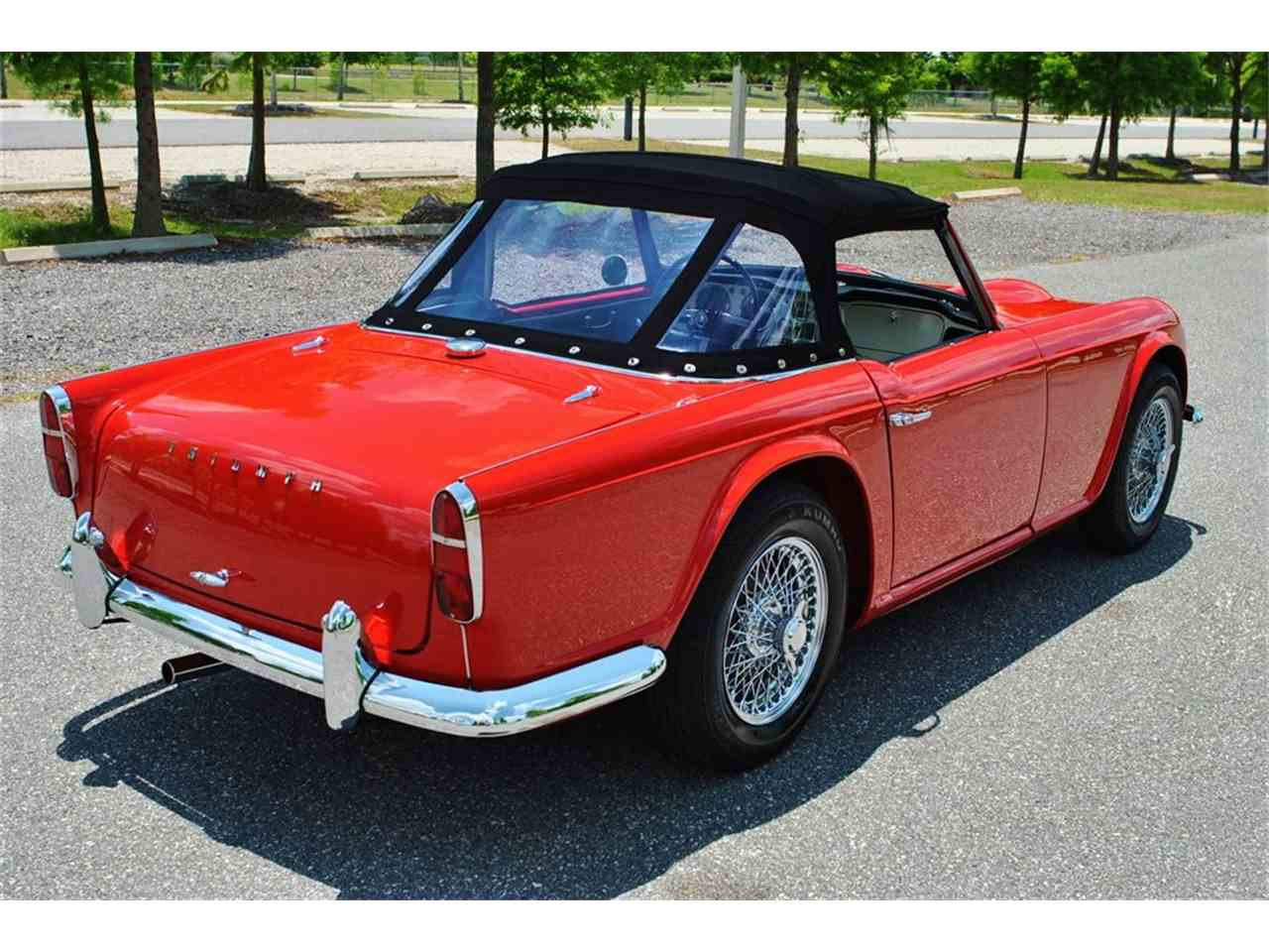 Large Picture of '62 TR4 - HWLN