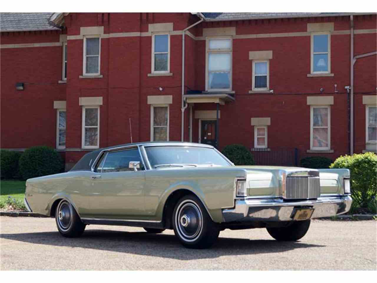 1969 lincoln continental mark iii for sale cc 836072. Black Bedroom Furniture Sets. Home Design Ideas